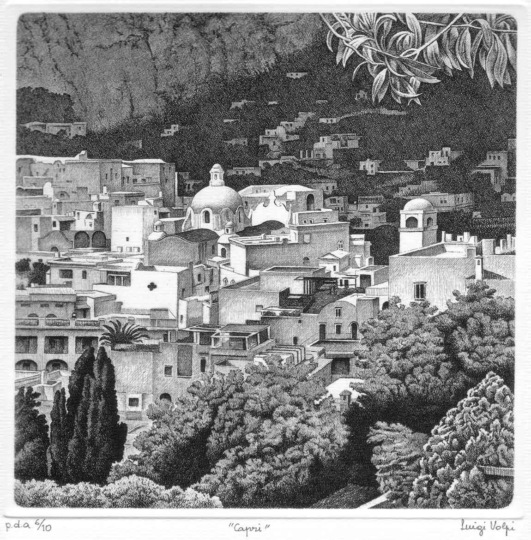 Capri - 20x20 cm - 2000 - acquaforte