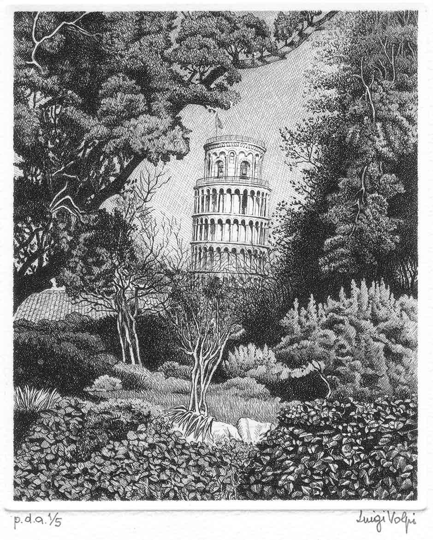 Dall'orto botanico (Il segreto) - 16x13 cm - 2006 - acquaforte