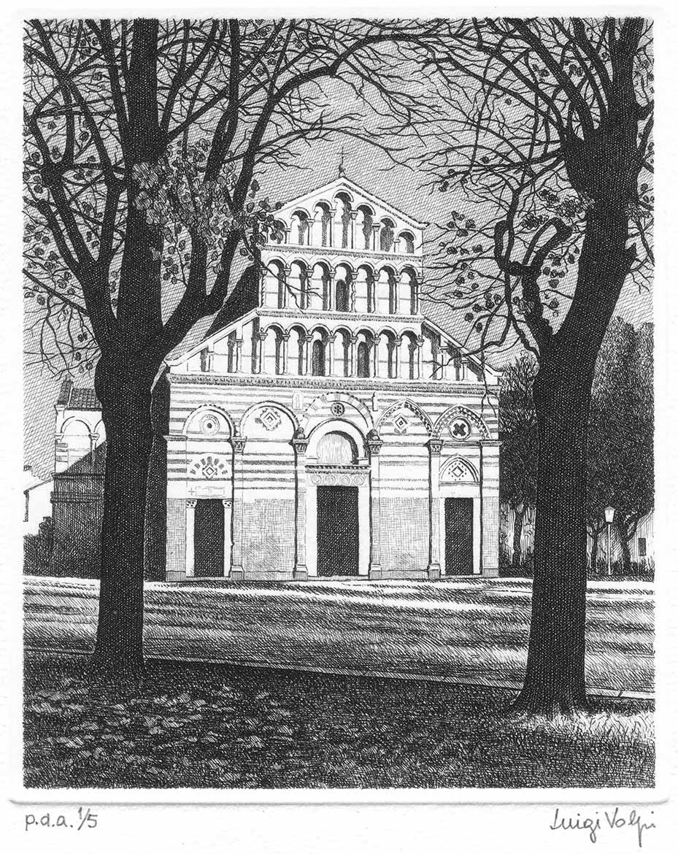 S Paolo a ripa d'Arno (la storia) - 16x13 cm - 2006 - acquaforte