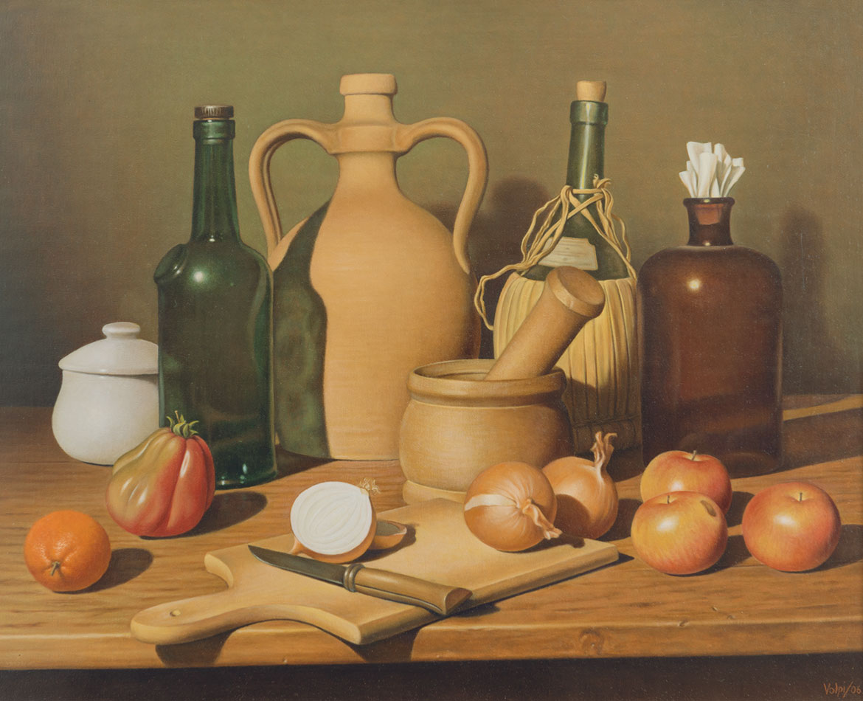 Alla maniera di Carlo Magnani - 38x60 cm - 2006 - olio su tela