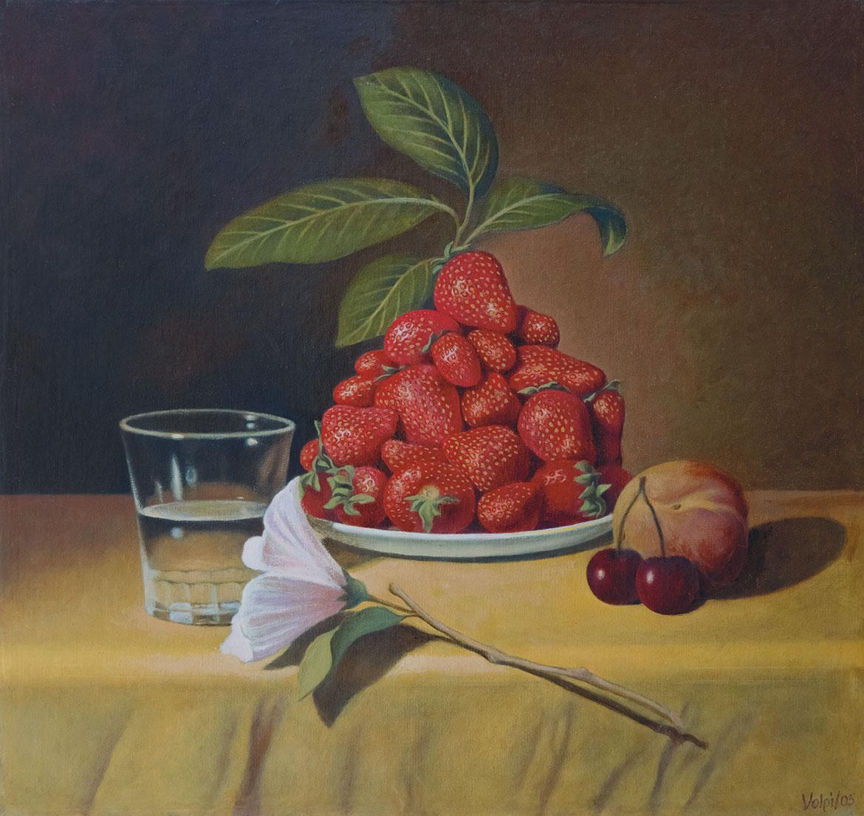 Alla maniera di Chardin - 29x31 cm - 2005 - olio su tela