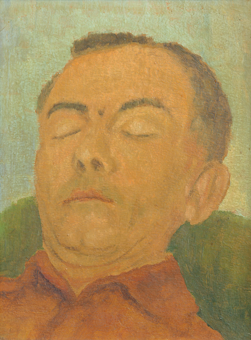 Egidio Volpi - 30x21 cm - 1966 - olio su tela