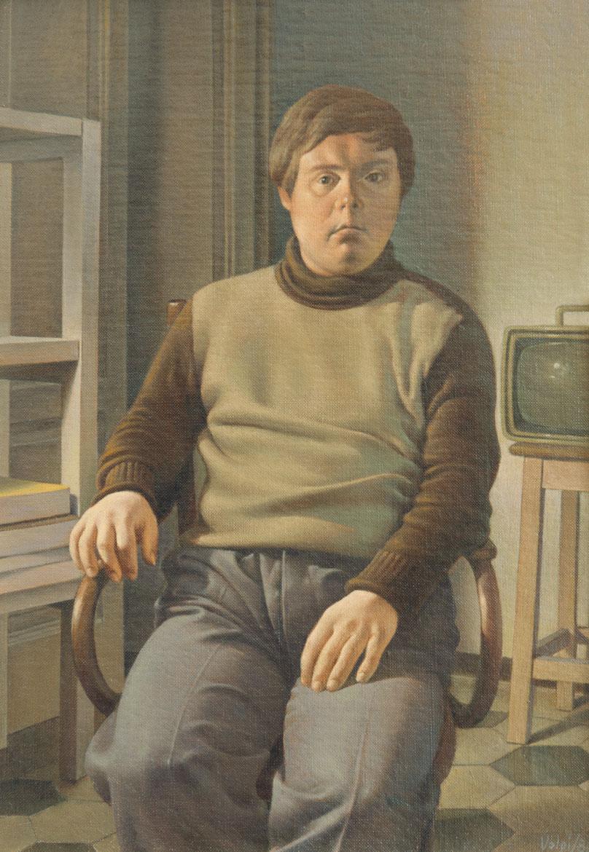 Remo - 36x26 cm - 1980 - olio su tela