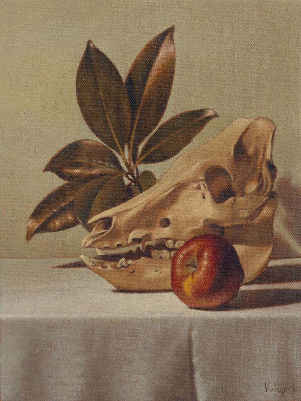 Vanitas 2 - 24x18 cm - 1983 - olio su tela